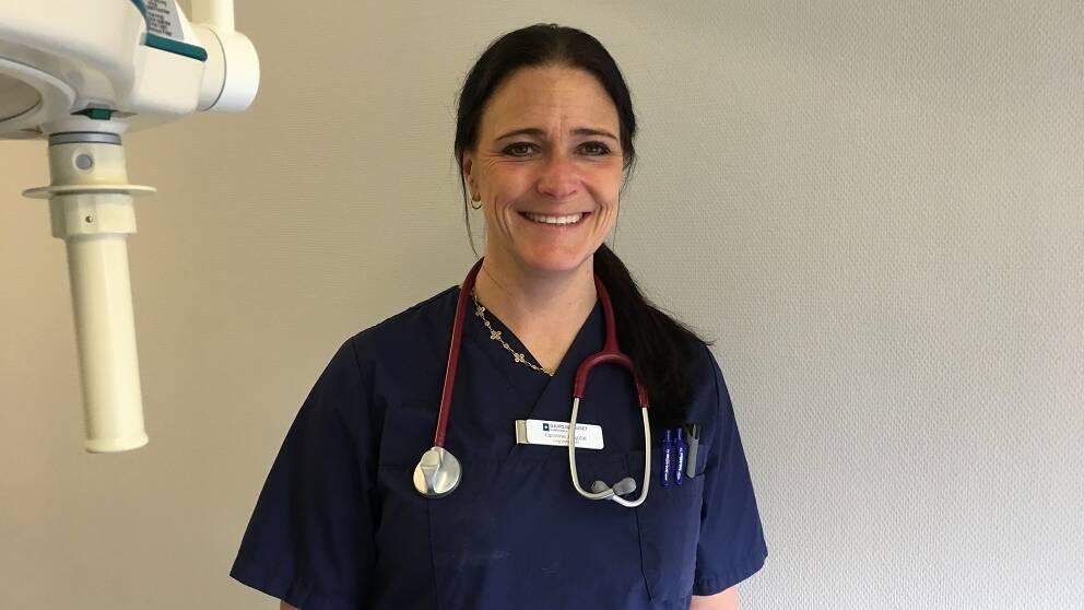 Veterinär Caroline Jangdal