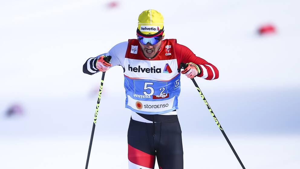 Dominik Baldfauf fälldes för dopning under VM i Seefeld.