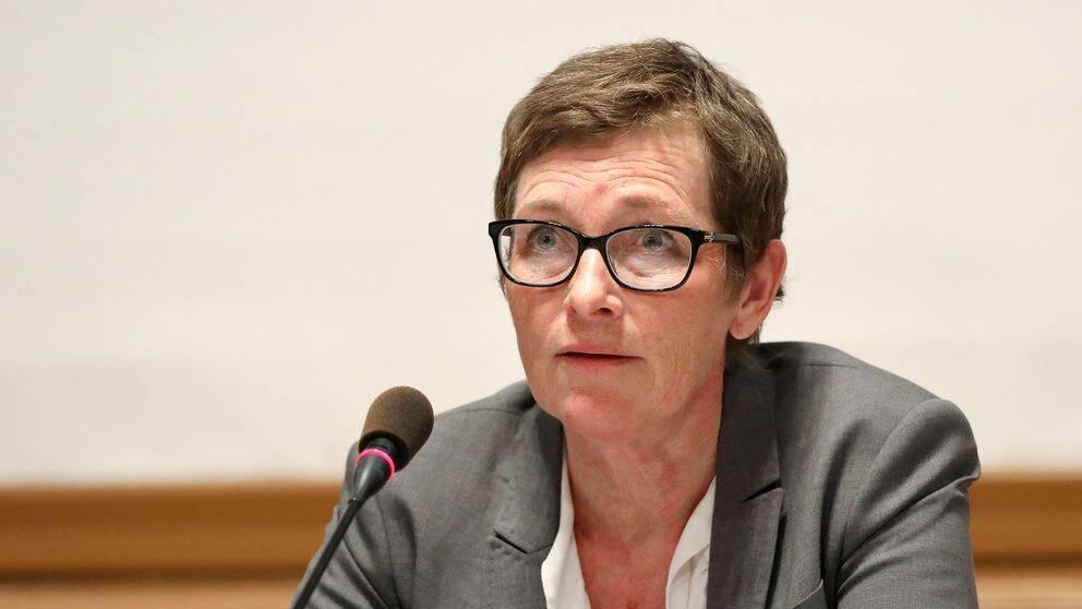 Maria Ågren frågas ut i Konstitutionsutskottet.