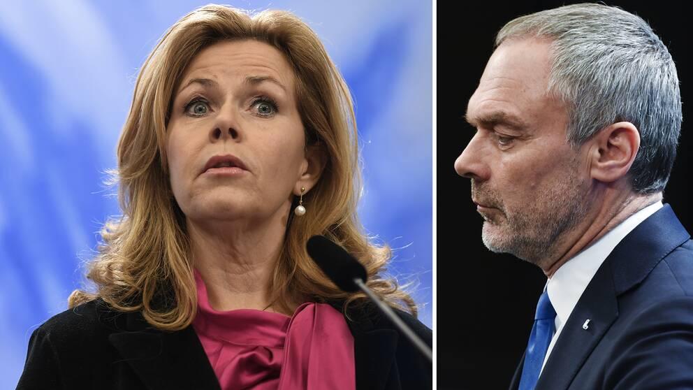 Cecilia Wikström (L) bör lämna sina sidouppdrag, annars bör hon avgå som EU-parlamentariker, säger Liberalernas partiledare Jan Björklund