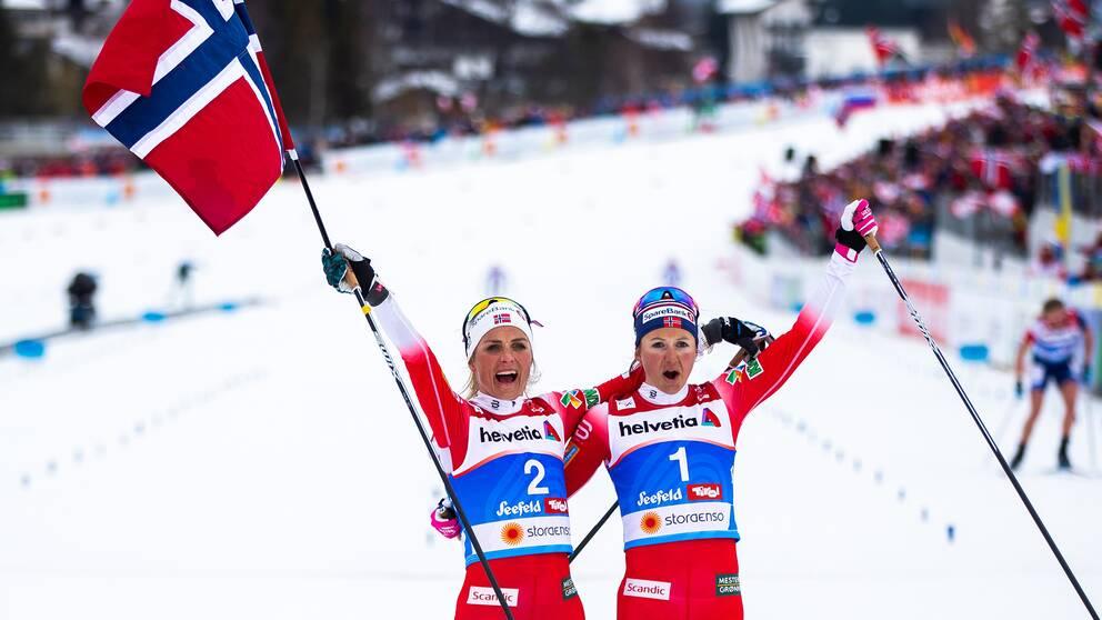 Norge hoppas på nya framgångar på hemmaplan