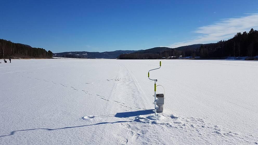Sportlov och sol längs kusten norr om Härnösand. -9 och strålande sol.