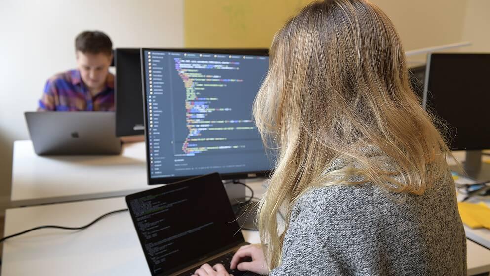 Kvinnor arbete programmering löneskillnader