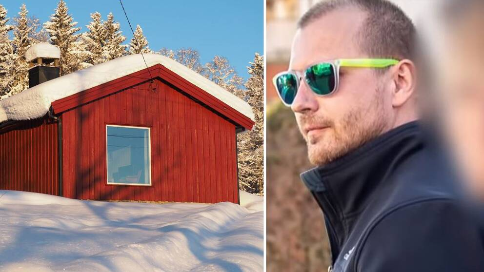 Huset i Lillehammer som hyrdes ut till läkaren Mark Schmidt.