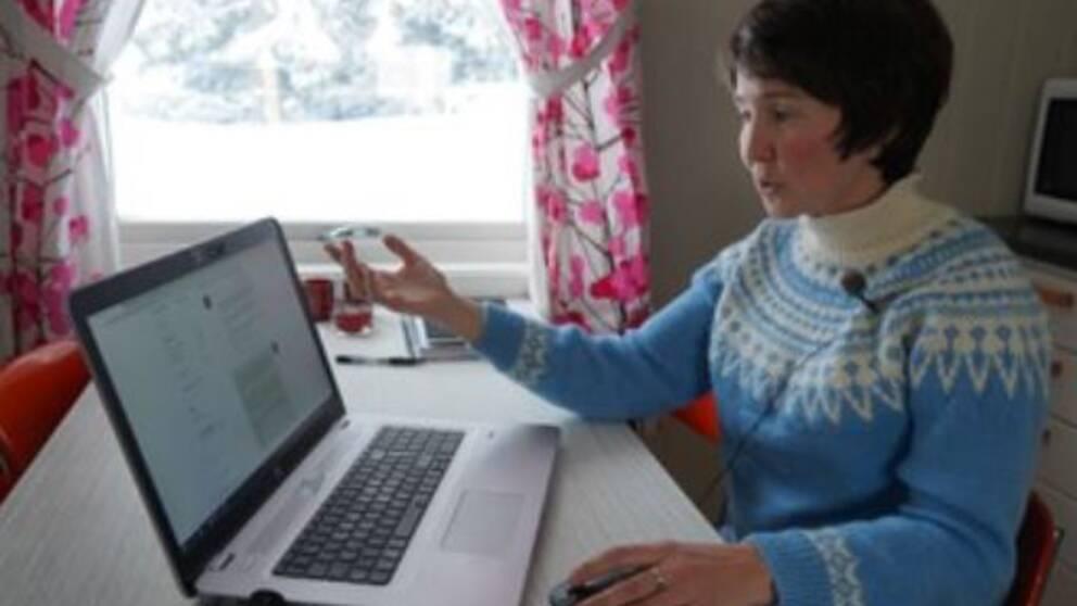 Norskan Birgit Sildnes hyrde ut sin stuga till läkaren Mark Schmidt.