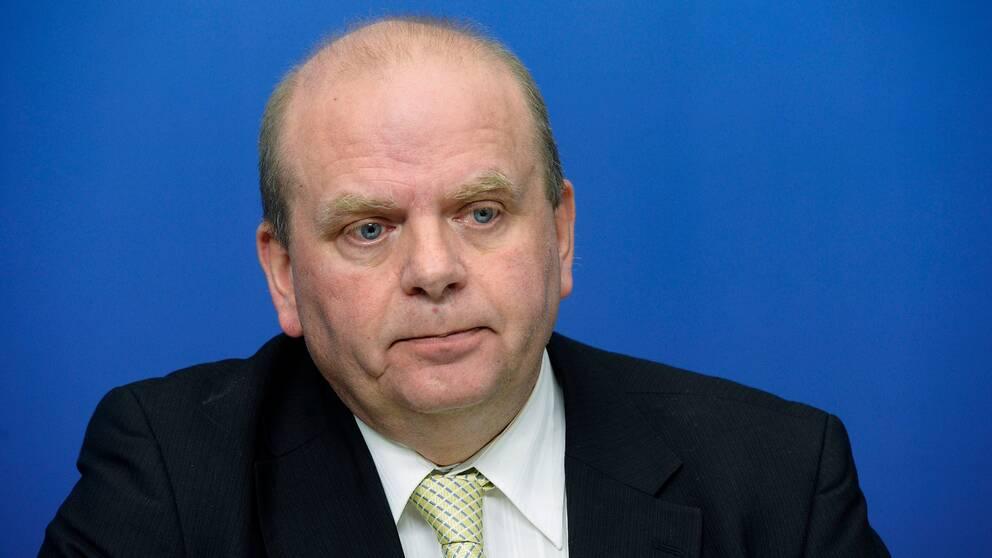Eskil Erlandsson lämnar sin riksdagsplats. Arkivbild.