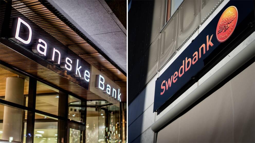 Danske Bank och Swedbank är två av flera europeiska banker som varit inblandade i penningtvättshärvor.