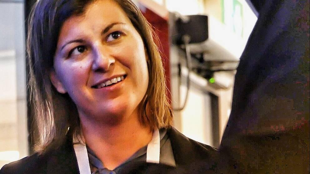 Sara Magnusson, andra vice ordförande hos Sveriges Ingenjörer