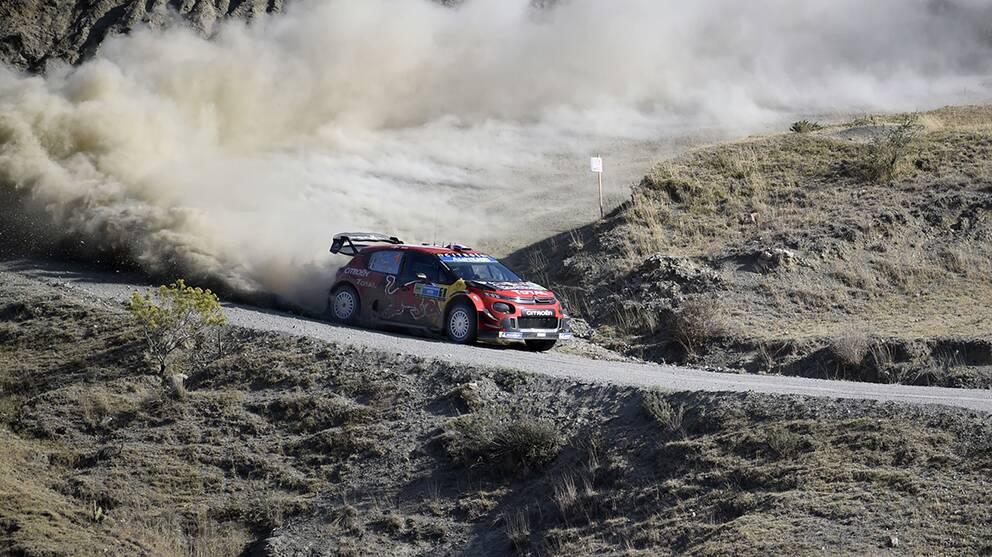 Sebastien Ogier vann mexikanska VM-rallyt för femte gången.