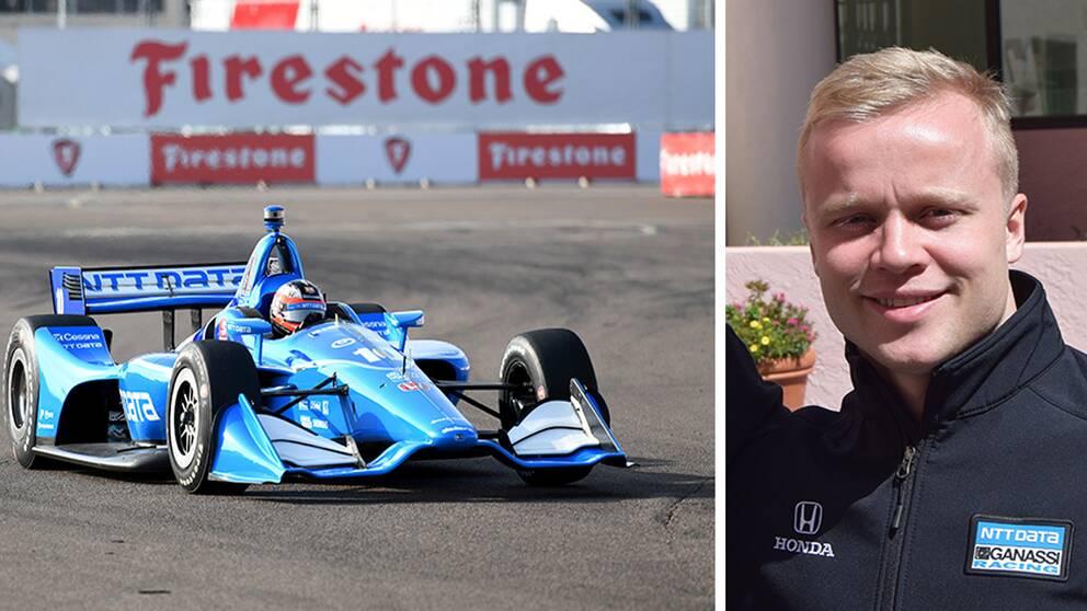 Succéstart för Felix Rosenqvist i IndyCar. Svensken slutade fyra i debuten.
