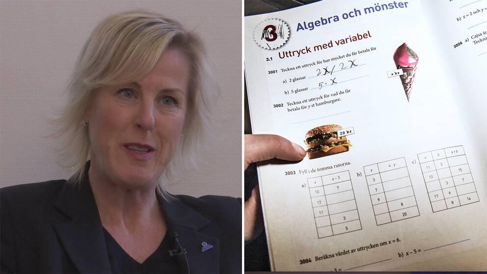Ordföranden i Lärarnas Riksförbund Åsa Fahlén reagerar starkt på SVT:s granskning.