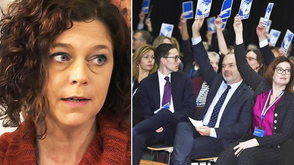 Emma Carlsson Löfdahl lämnaar nu Liberalerna efter avslöjandena om hennes förehavanden kring en hyreslägenhet på Södermalm i Stockholm