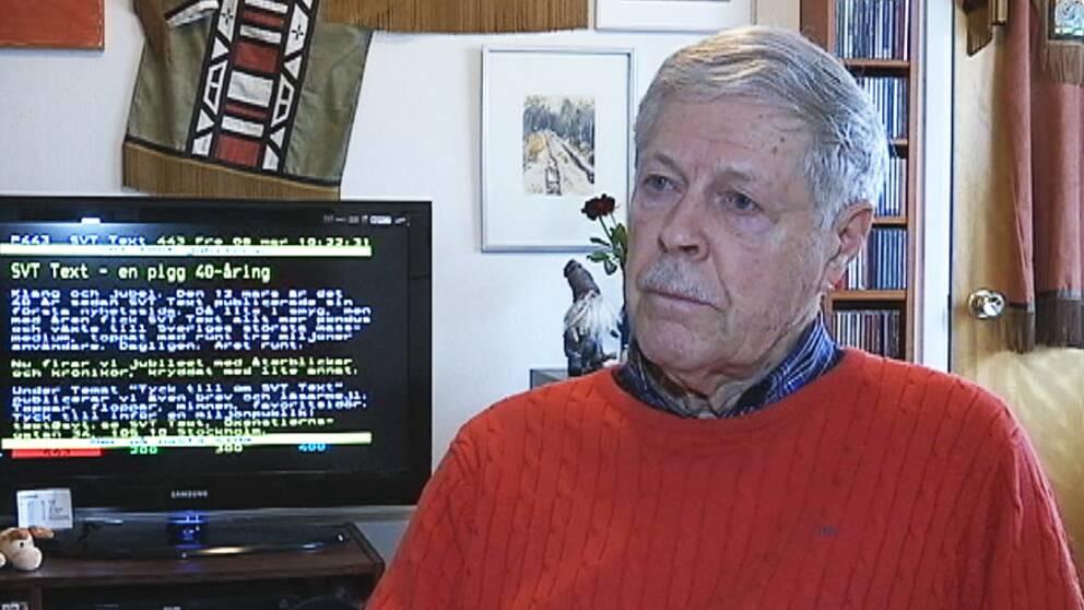 Hör en en av männen bakom text-TV berätta om succén