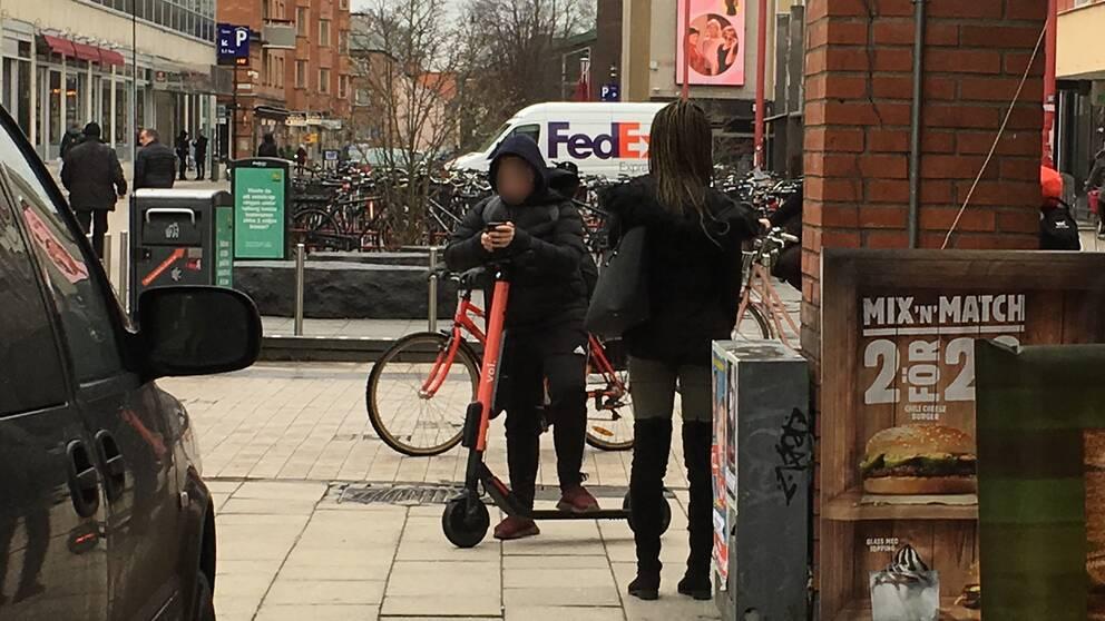 Elsparkcykel regler
