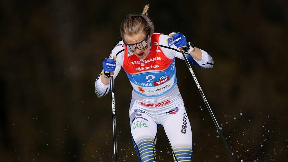 Stina Nilsson gör comeback i världscupen i norska Drammen.