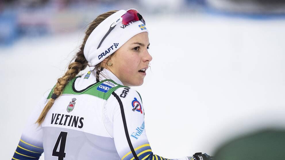Johanna Hagström, 20.