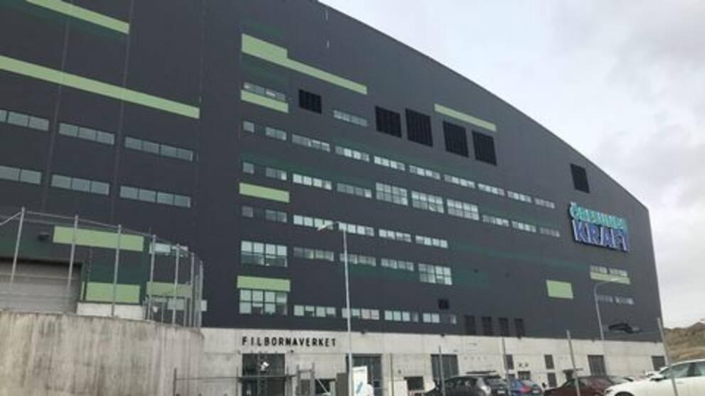 Filbornaverket, Öresundskrafts anläggning i Helsingborg. Exteriör