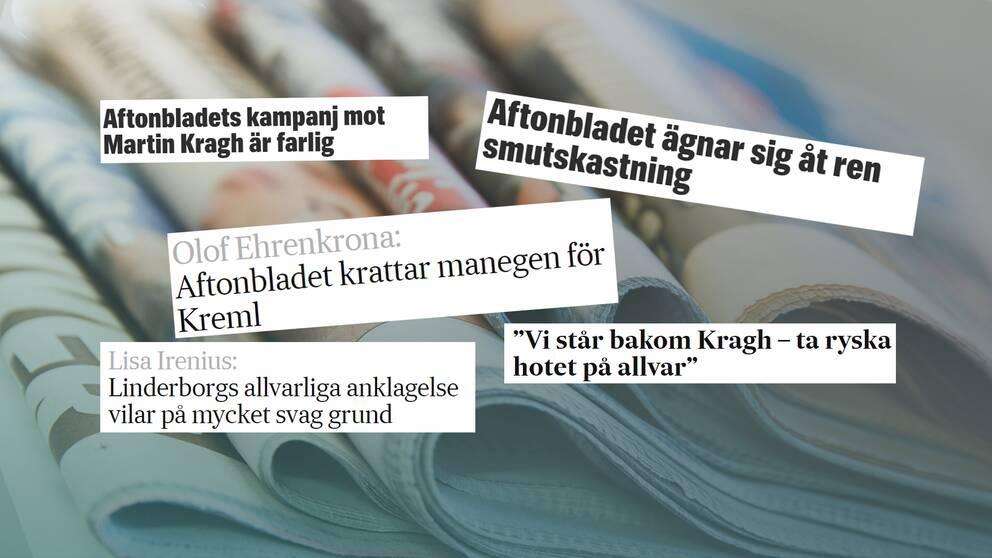 Linderborgs anklagelser mot Krag har mötts av hård kritik i svenska medier under den senaste månaden.
