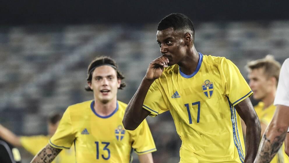 Alexander Isak får chansen av Janne Andersson när Sverige inleder EM-kvalet mot Rumänien och Norge.