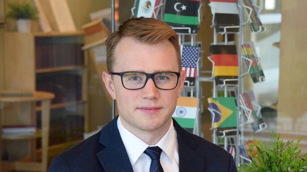 Viking Bohman arbetar som analytiker om Kina på utrikespolitiska institutet, UI.
