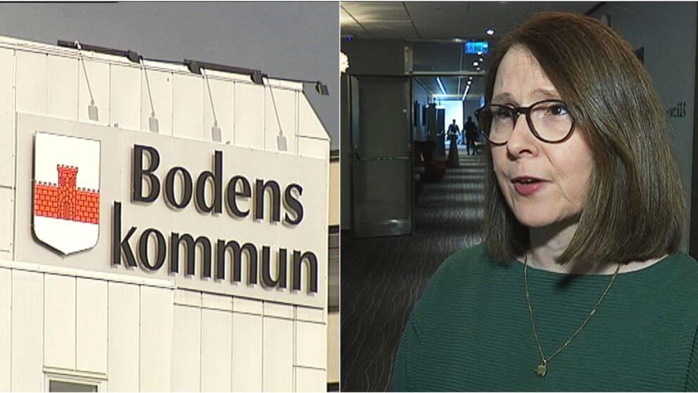 Beatrice Öhman (S), ordförande i socialnämnden i Boden.