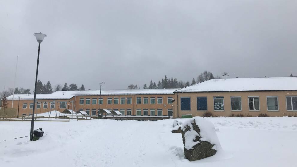 Kyrkbacksskolan i Kopparberg.