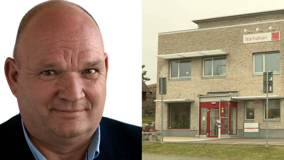 Kent Lagrell (M), ledamot i kommunstyrelsen för Öckerö kommun, vill gärna ha kvar de psykiatriska mottagningarna för barn i kommunen.