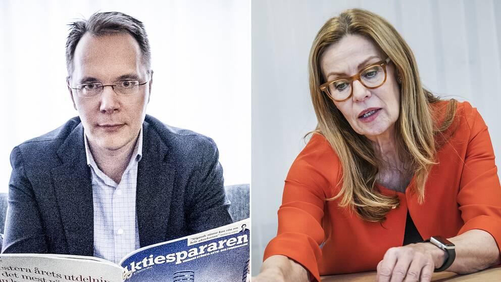 Joacim Olson och Birgitte Bonnesen.
