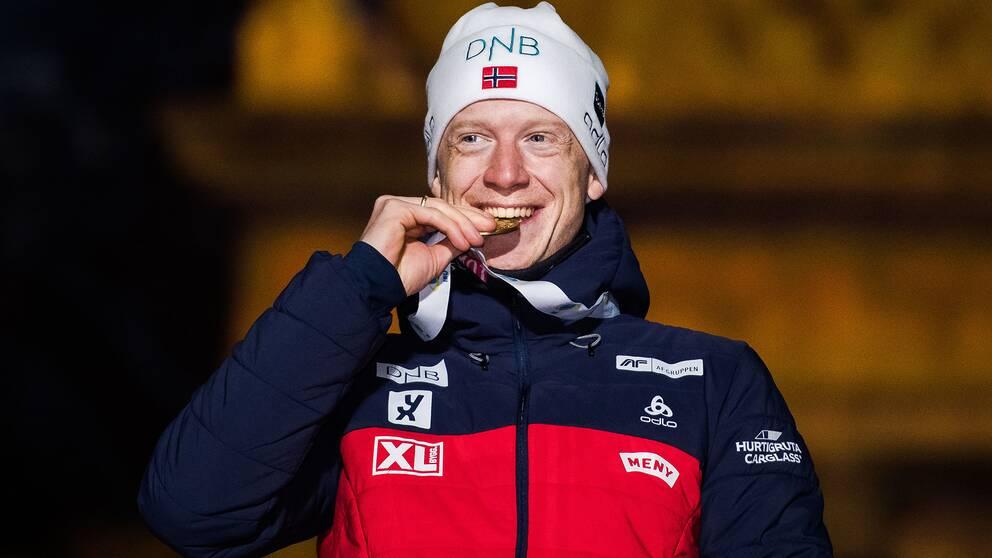 Johannes Thingnes Bö.