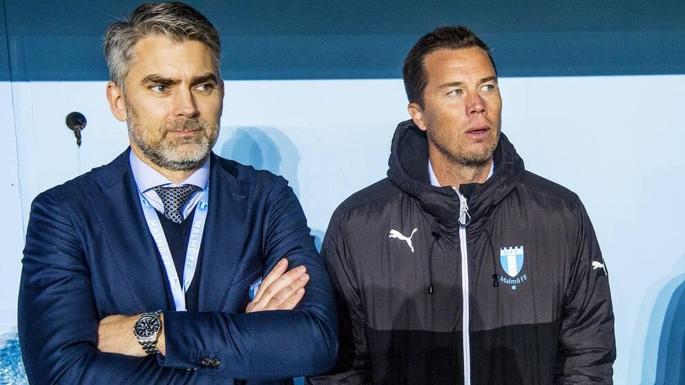 Niclas Carlnén och Daniel Andersson.