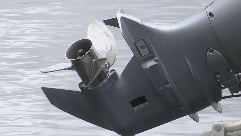propeller på båtmotor