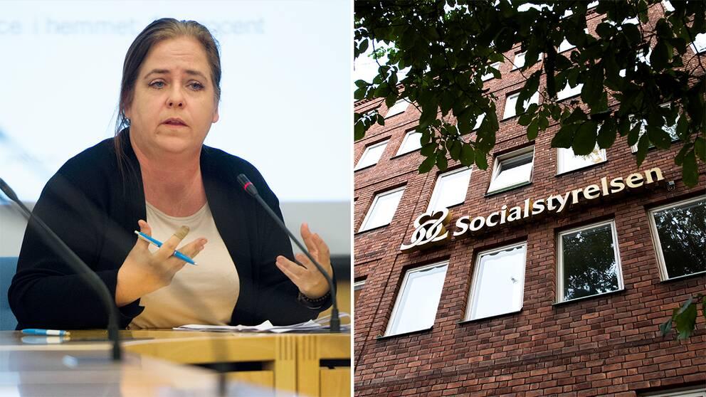 Karin Flyckt , sakkunnig på Socialstyrelsen och ansvarig över lägesrapporten.