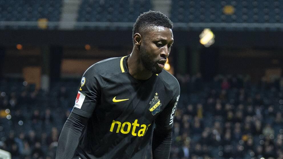 Chinedu Obasi har återvänt till AIK efter att ha spelat i Elfsborg i fjol.