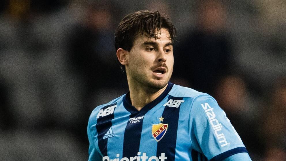 Astrit Ajdarevic är ny i Djurgården till den här säsongen.