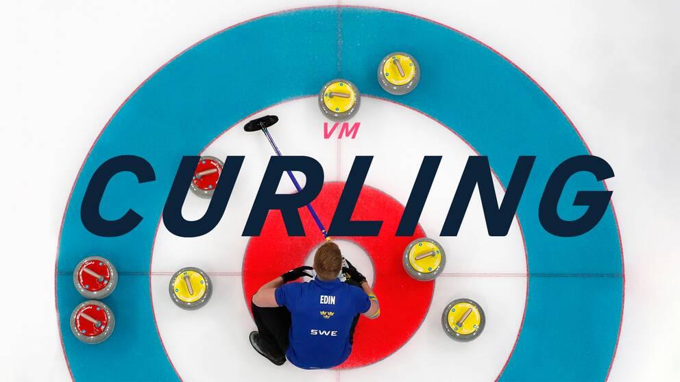 Lag Edin under VM i curling.