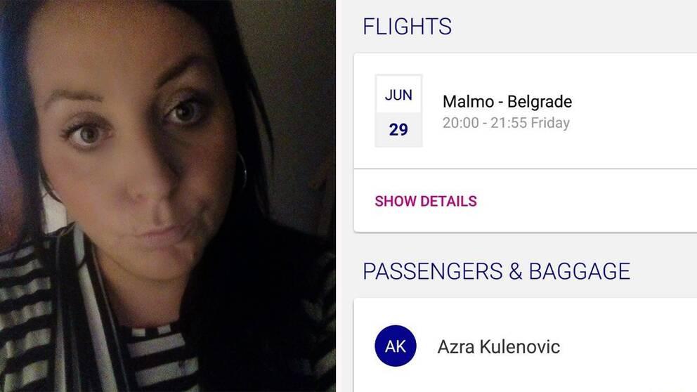 """Azra Kulenovic tvingades i sista stund ställa in den planerade och redan betalade semesterresan med familjen – annars skulle hon bli vräkt från det hus hon hyrde av chefen. """"Jag kände mig kränkt"""", säger hon."""