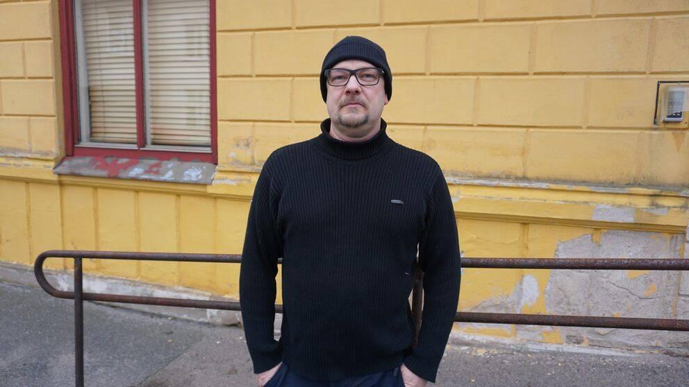 Porträttbild på Paul Melén