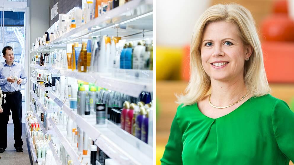 Annika Svedberg, farmaci- och kvalitetschef vid Apotek Hjärtat.