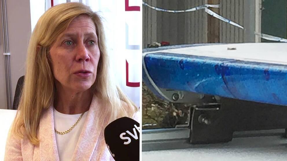 Åklagare Gisela Sjövall leder förundersökningen.