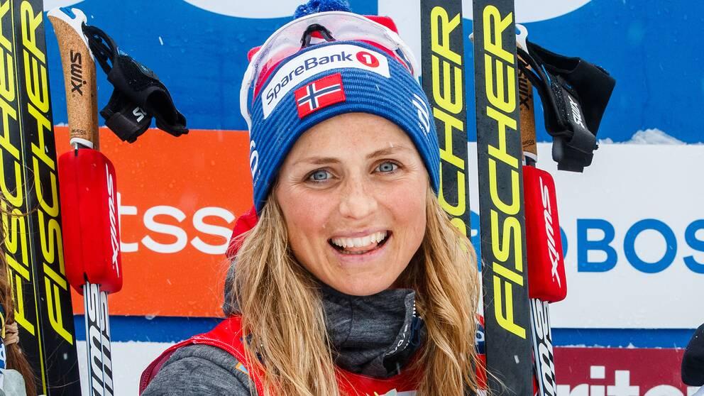 Therese Johaug ska satsa mer på sprint nästa säsong.