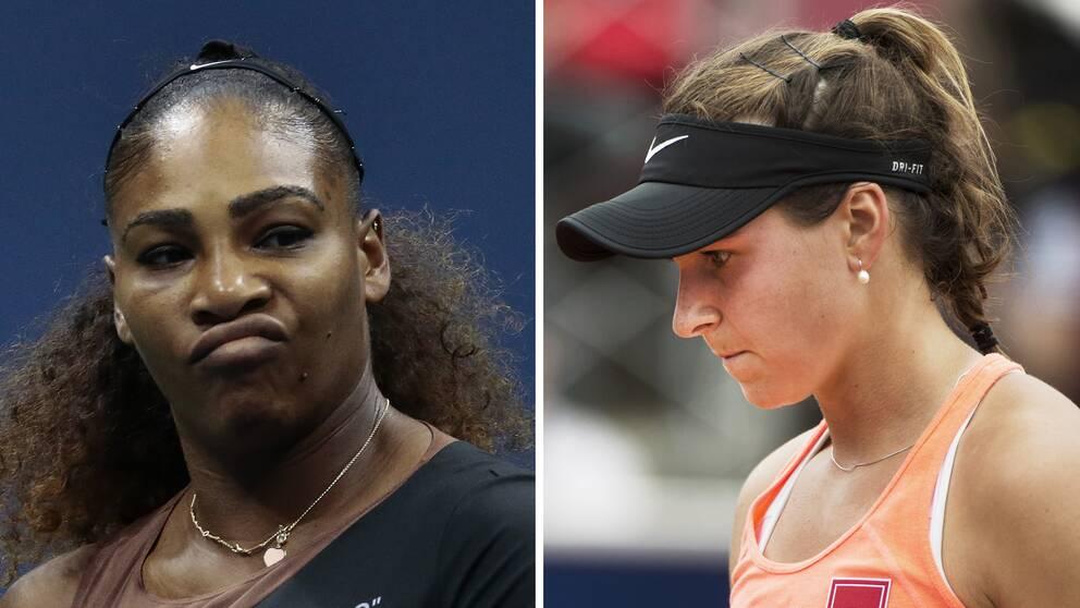 Rebecca Peterson ställs mot superstjärnan Serena Williams för första gången i karriären.