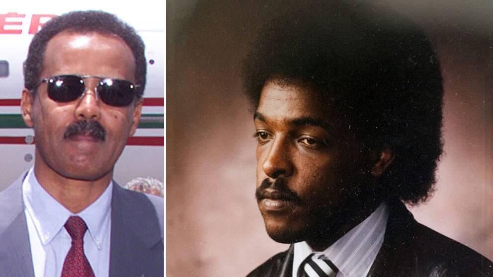 Eritreas president Isaias Afewerki och Dawit Isaak.