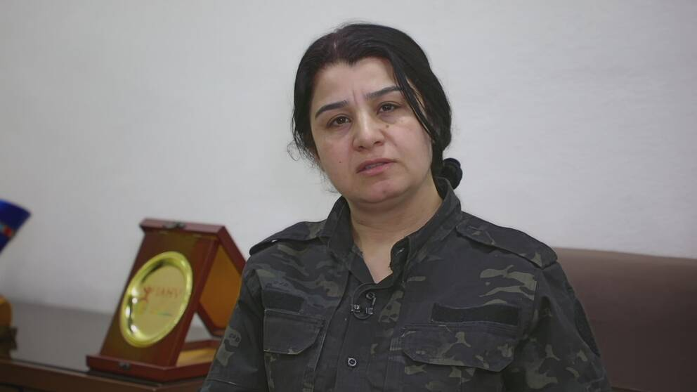 överbefälhavaren som vill att världen ska ta ansvar för sina IS-fångar.