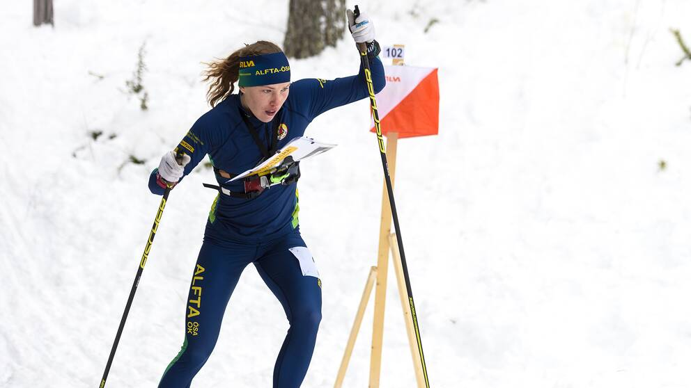 Tove Alexandersson under SM-veckan i Piteå, januari 2016.