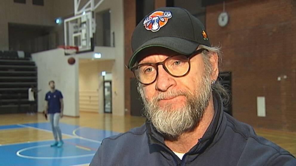 Torbjörn Gehrke är tränare för Jämtland basket.