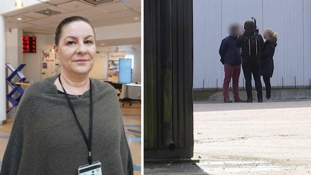"""Nada Nedelén, verksamhetssamordnare på Arbetsförmedlingen i Blekinge efter SVT:s granskning av företagaren: """"Det är hemskt."""""""