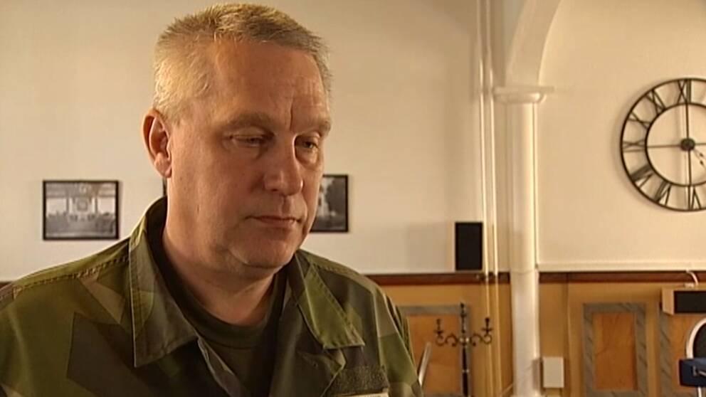 Övningsledaren Stefan Smedman