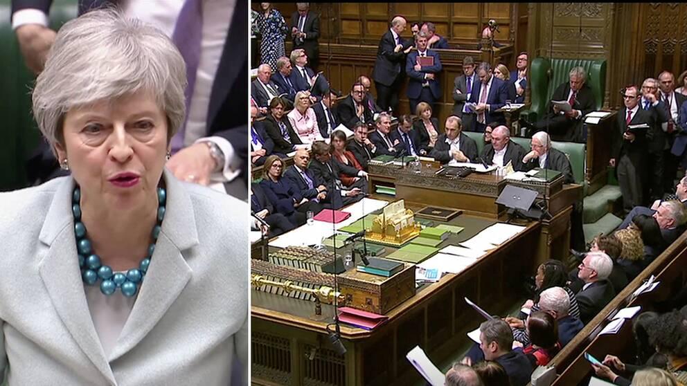 Parlamentet tar kontrollen över brexit