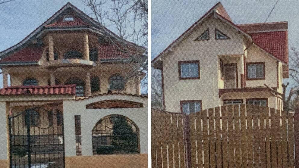 foton på två hus