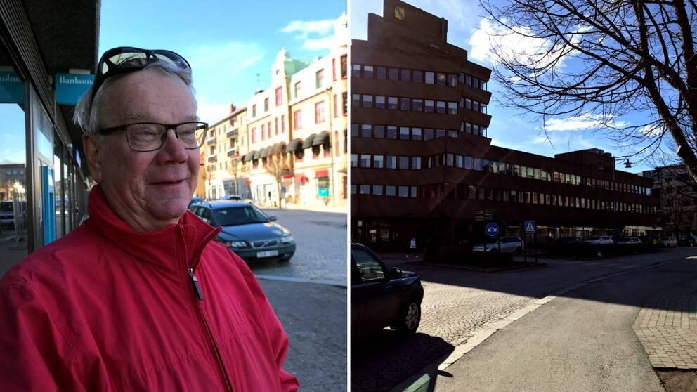 Nils-Erik Olofsson (S) ordförande i valnämnden i Vetlanda.